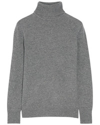 Equipment Oscar Cashmere Turtleneck Sweater Anthracite