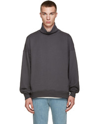 Fear Of God Grey French Terry Turtleneck