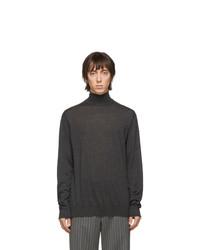 Lanvin Grey Cashmere Turtleneck