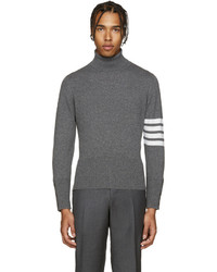 215c3c640486 ... Thom Browne Grey Cashmere Turtleneck