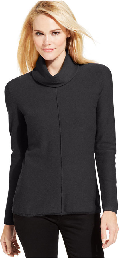 Calvin Klein Jeans Long Sleeve Cowl Neck Sweater | Where to buy ...