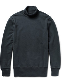 Our Legacy Loopback Cotton Jersey Rollneck Sweatshirt