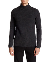Vince Camuto Ribbed Mock Neck Sweater