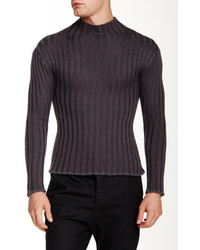 Ports 1961 Ribbed Wool Turtleneck Sweater