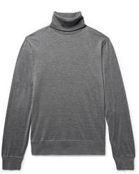Brunello Cucinelli Silk And Cotton Blend Rollneck Sweater