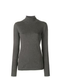Liu Jo Studded Sleeve Turtleneck Sweater