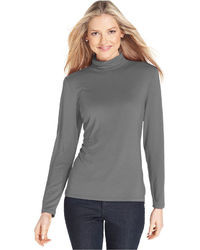 Style&co. Style Co Mock Turtleneck Top Only At Macys