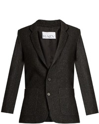 Ry long line speckled tweed blazer medium 960032
