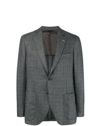 Tombolini Single Breasted Tweed Blazer