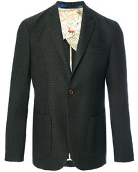 Etro Tweed Two Button Blazer