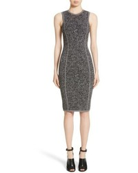 Michael Kors Michl Kors Stretch Tweed Jacquard Sheath Dress