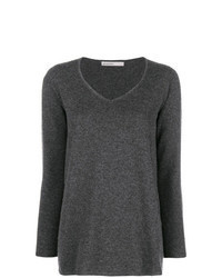 Charcoal v neck sweater original 2137515