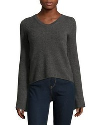 Cashmere Flare Sleeve Top