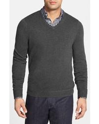 John w nordstrom cashmere v neck sweater medium 361251