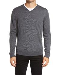 Nordstrom Men's Shop Nordstrom Merino V Neck Sweater