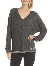 GOOD HYOUMAN Peace Love Pullover Sweater
