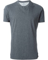Brunello Cucinelli V Neck T Shirt