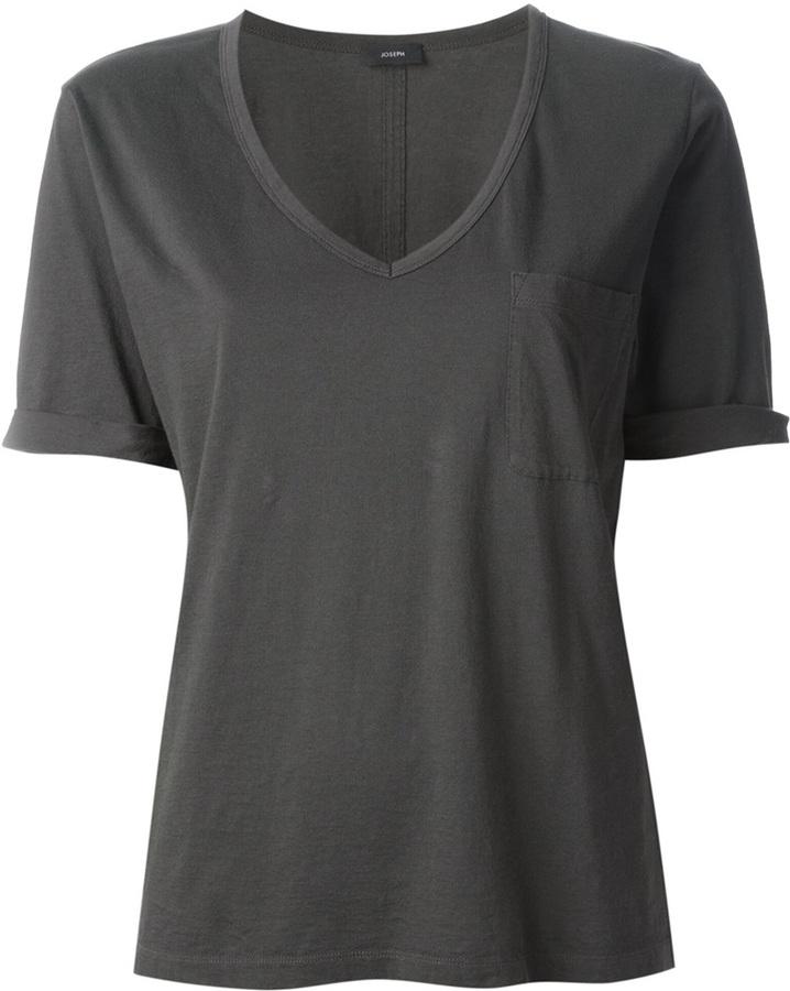 V-neck T-shirt - Black Joseph All Size Cheap Sale Eastbay P85rHE