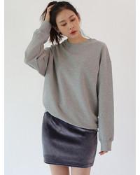 Velvet mini skirt medium 6844479