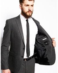 Pinstripe Skinny Suit | My Dress Tip