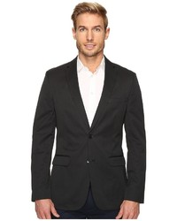 Calvin Klein Slim Fit Ticking Stripe Sportcoat Coat