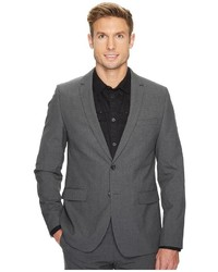 Calvin Klein Slim Fit Two Button Notch Lapel End On End Bi Stretch Infinite Style Jacket Coat
