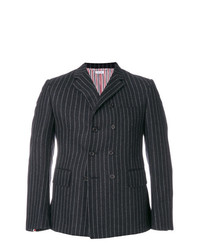Chalk stripe pintuck sport coat medium 7803989