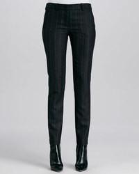 Cullum striped straight leg pants medium 47291
