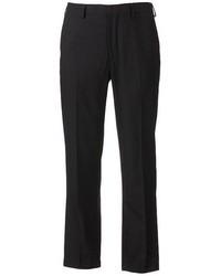 Apt. 9 Modern Fit Striped Flat Front Dress Pants