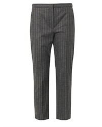 Pinstripe wool trousers medium 193608