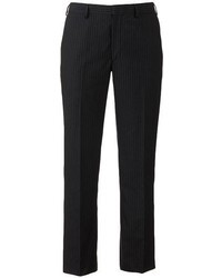 Apt. 9 Slim Fit Flat Front Striped Dress Pants