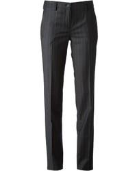 Tagliatore Straight Pinstriped Trousers