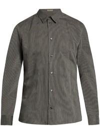 Bottega Veneta Pinstriped Button Down Shirt