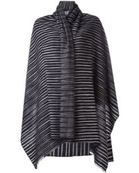 Denis colomb dotted and stitched stripe scarf medium 95085