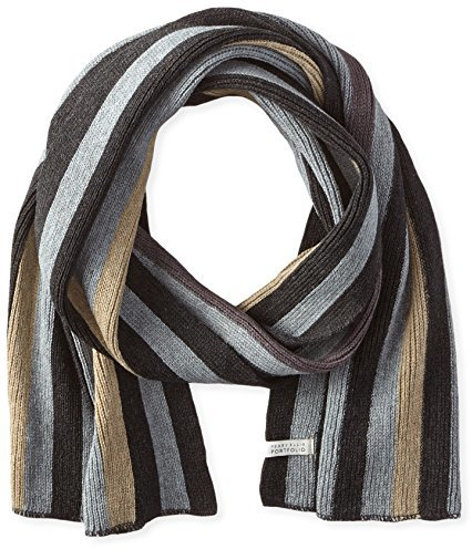 Vertical Striped Scarf Knitting Pattern : Perry Ellis Knit Stripe Scarf Where to buy & how to wear
