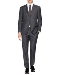 Corneliani Wool Striped Leader Fit Suit
