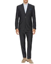 Paul Smith Wool Slim Fit Pinstripe Suit