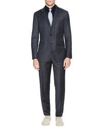 Wool Stripe Slim Fit Chelsea Suit