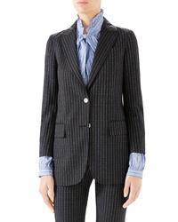 Gucci Logo Stripe Jacket