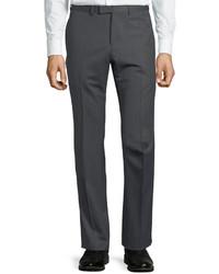 Monaco pinstripe wool trouser pants medium 4415546