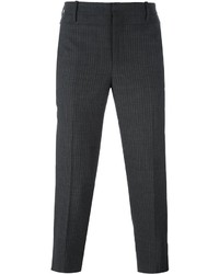 Neil Barrett Pinstripe Cropped Trousers