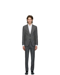 BOSS Grey Striped Novan Suit