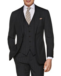 Suitsupply Pinstripe Wool Three Piece Suit
