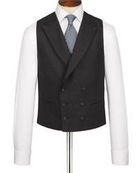 Charles Tyrwhitt Charcoal British Panama Classic Fit Luxury Suit Vest