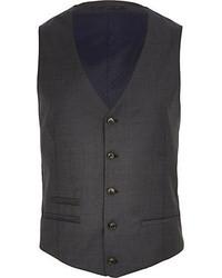 River Island Dark Grey Vest