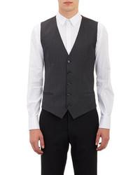Dolce & Gabbana Herringbone Stripe Waistcoat