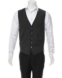 DSQUARED2 Mixed Media Wool Vest