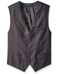 Perry Ellis Big Tall Solid Suit Vest