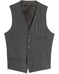Neil Barrett Pinstriped Wool Blend Vest