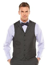 Savile Row Sharkskin Gray Suit Vest